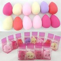 Esponja Para Maquiagem Tipo Beauty Blender Kit Com 12 Unidad FASHION -
