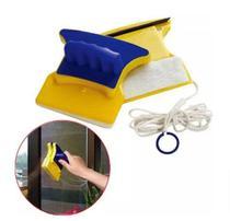 Esponja Rodo Limpador de Vidro Magnético para Janela Box Aquário Limpa Vidro Com Imã Magnético -