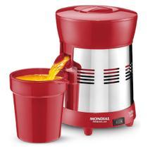 Espremedor de frutas 1,25L inox Turbo RED - E-24 - Mondial -
