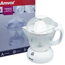 Espremedor de Frutas Elétrico Laranja Limão 30W 1 Litro Branco Amvox AES 3300 -