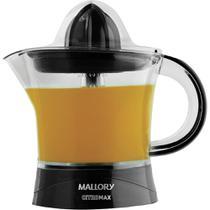 Espremedor de Frutas Mallory Citromax Preto 127V -