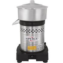 Espremedor De Frutas Médio Aço Inox Bivolt Spl-005 Spolu -