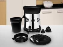 Espremedor de Frutas Mondial Cozinha E-10 Elétrico - Inox 250W Capacidade 01L Preto e Inox