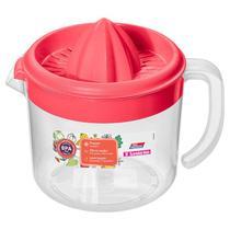 Espremedor de Frutas-Plástico-Cor Vermelho-1,02litros-SANREMO -