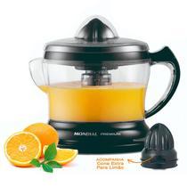 Espremedor De Suco Laranja Limão Mondial Premium Preto 127v -