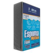 Espuma Esponja Atlas Multiuso 20x13x6 cm Para lavar Carro Limpeza em geral -