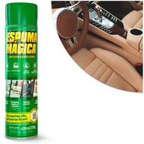 Espuma Mágica Proauto Limpa Estofados 400ml Limpador Automotivo e Uso Geral -