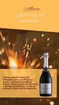 Espumante  Castellamare  Moscatel  caixa com  6  x 750ml - Coop, Vinicola  São João