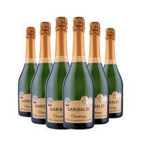 Espumante Garibaldi Chardonnay Brut 6x750ml -