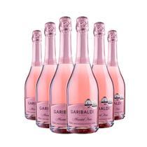 Espumante Garibaldi Moscatel Rosé 6x750ml -