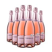 Espumante Garibaldi Vero Brut Rosé 6x750ml -