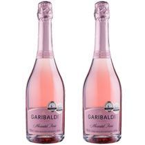Espumante Moscatel Rosé 750ml Garibaldi Kit 2 -