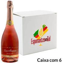 Espumante Moscatel Rosé Castellamare 750ml - Caixa com 6 -