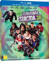Esquadrao Suicida (Blu-Ray 3D) - Warner home video