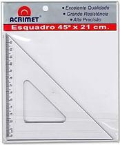Esquadro 45º 21 cms 532.0 - Acrimet