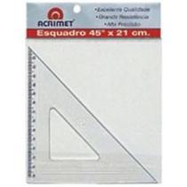 Esquadro Poliestireno 45X21cm - Acrimet
