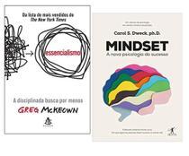 Essencialismo + Mindset A nova psicologia do Sucesso - Várias Editoras