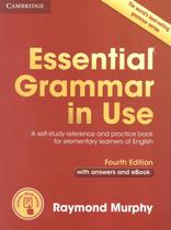 Essential grammar in use with answers and interactive e-book - 4th ed - Cambridge university -