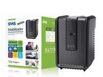 Estabilizador sms 15971 revolution speedy 500va entrada e saída 115v 4 tomadas -
