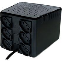 Estabilizador TS Shara Powerest Home 500VA Entrada 115V / Saída 115V 6 Tomadas - 9002 -
