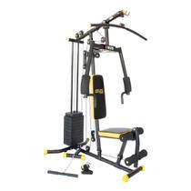 Estação De Musculação Gx Supreme Black Kikos -