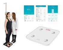 Estadiômetro Portátil + Balança Bioimpedancia Bluetooth Myfit - Avanutri E Balmak
