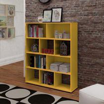Estante Artely Book Amarelo -