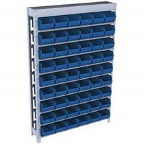 Estante caixa box organizadora para gavetas bin nº 5 com 54 Gavetas - Max