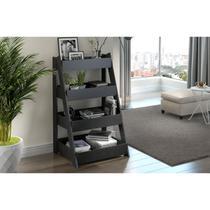 Estante Escada 1001 Life Carbono Trama Be Mobiliário -