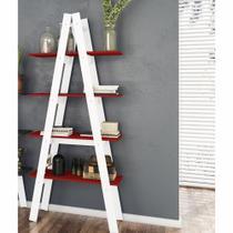 Estante escada 4 prateleiras 77cm RT 3048 - Movelbento -