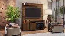 Estante Home Com Mini Bar Para Tv Até 65 Polegadas LOVE - Cacau - Jcm