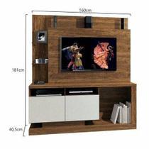 Estante Home Legacy - Para TV até 55 polegadas  - Mavaular - Mavaular móveis
