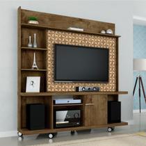 Estante Home Móveis Bechara Taurus TV Até 47 Pol Madeira Rústica 3D -
