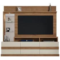 Estante Home Painel para TV até 65 Pol. Hórus Buriti/Off White - Caemmun -
