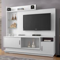 Estante Home para TV Adustina Branco - CHF - Chf móveis