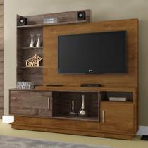 Estante Home para TV Adustina Caramelo/Chocolate - CHF - Chf móveis