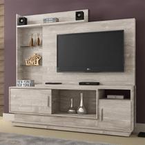 Estante Home para TV Adustina Champanhe - CHF - Chf móveis