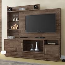 Estante Home para TV Adustina Chocolate - CHF - Chf móveis