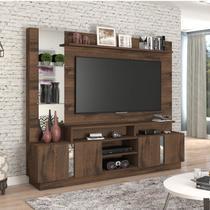 Estante Home para TV até 46 polegadas Veneza Siena Móveis Café -
