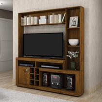 Estante Home para TV até 47 Polegadas Adega e 3 Prateleiras Liz Plus Benetil Móveis Rovere -