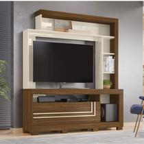 Estante Home para TV até 52 Polegadas 1 Porta Nice Belaflex Freijó/Off White -