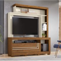 Estante Home para TV até 52 Polegadas 1 Porta Nice Belaflex Nature/Off White -