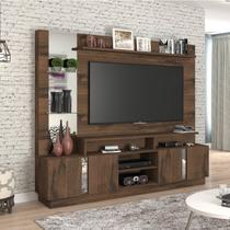 Estante Home para TV até 55 Polegadas 4 Portas Munique Permobili Café
