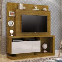 Estante Home Para TV até 55 Polegadas Legacy Mavaular Mel/Off White -