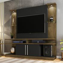 Estante Home para TV até 60 Polegadas 2 Portas e LED York Bechara -