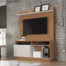 Estante Home para TV até 60 Polegadas 2 Portas Parati Colibri Móveis Natural Real/Off White -