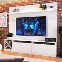 Estante Home para TV até 60 Polegadas Bianca Branco - Quiditá móveis