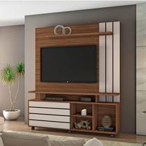 Estante Home para TV até 60 Polegadas Serra Siena Móveis Rovere/Off White -