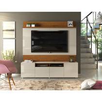 Estante Home Para Tv Até 70 Polegadas 4 Portas Quadrus Dj Móveis -