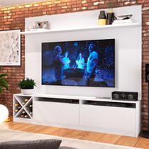 Estante Home para TV até 80 Polegadas Bianca Branco - Quiditá móveis